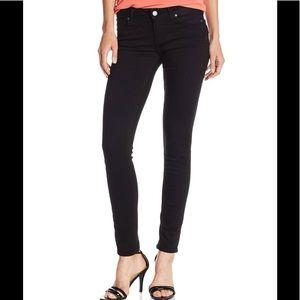 Paige Verdugo Ultra Skinny Jeans Black Denim